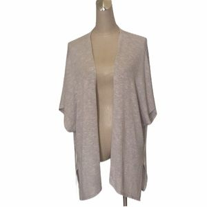 Charming Charlie Grey Cardigan Sz M